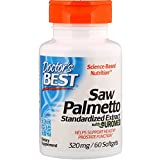 Doctor's Best Best Saw Palmetto Extract (320 mg), Softgel Capsules, 60-Count For Sale