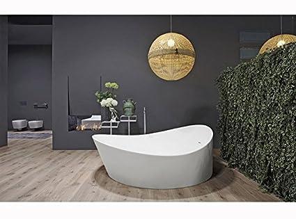 Vasche da bagno Antonio Lupi Dune vasca da bagno tonda DUNE1: Amazon ...