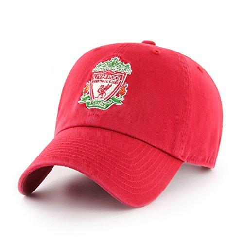 International Soccer Liverpool EPL OTS Challenger Adjustable Hat, Red, One Size -