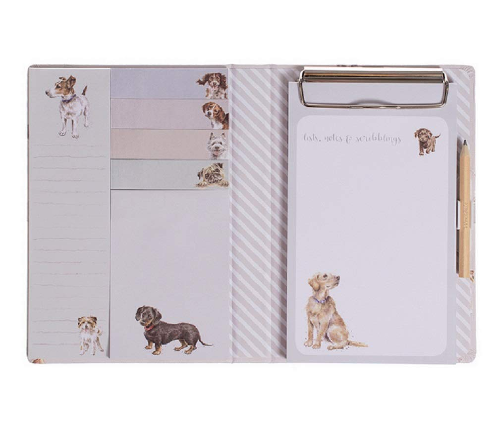 A Dog's Life Note Pad Book - Tear-Off Notepads, Sticky Note Pad, Index Tabs by Wrendale Designs