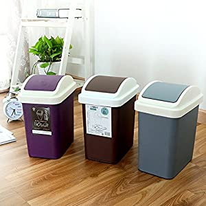 Trash Can Fashion Household Clean Garbage Bucket Living Room Kitchen Applicable Place Kitchen,office,bedroom,bathroom,living Room,study