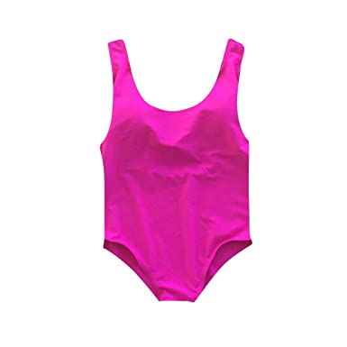 3f849f0296 Amazon.com: A Dash of Chic Kids Blank Many Colors One Piece Swimsuit ...