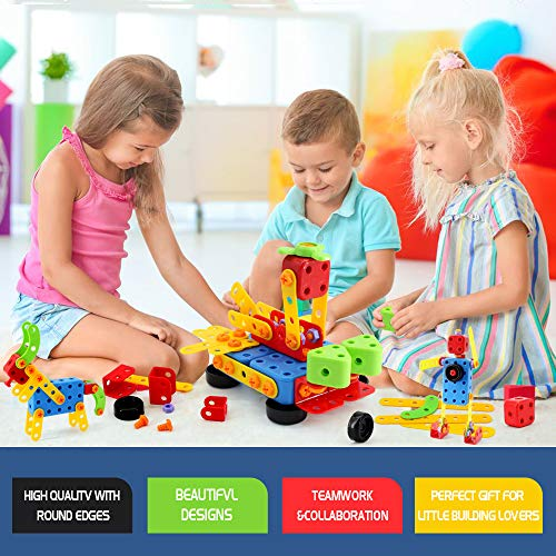 VATOS Building Toy STEM Learning Toy 316 Pcs Creative ...