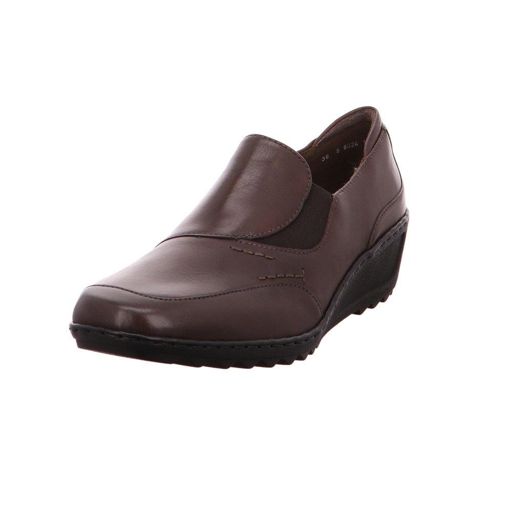 Jenny - Zapatos de cordones para mujer marrón street Weite H 39|street Weite H