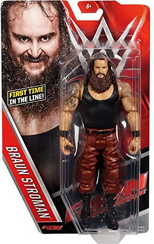 WWE Wrestling Series 64 - Braun Strowman Figure by Mattel