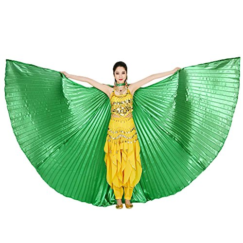 iYBUIA Women's Professional Egyptian Belly Dance Costume Bifurcate