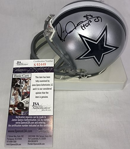Michael Irvin Signed / Autographed Dallas Cowboys Mini Football Helmet - JSA Certified (Autographed Dallas Cowboys Authentic Helmet)