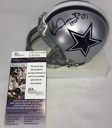 Michael Irvin Signed / Autographed Dallas Cowboys Mini Football Helmet - JSA Certified (Autographed Dallas Cowboys Authentic Helmet)