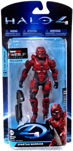 McFarlane Halo 4 Series 2 Spartan Warrior Action Figure [Red]