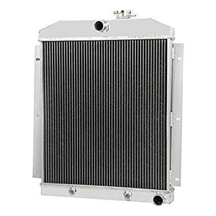 Ozcoolingparts 47 54 Chevy Truck Radiator 3 Row Core Aluminum Automotive Engine Radiator For 1947 1954 1948 1949 50 51 52 53 Chevy Base Truck