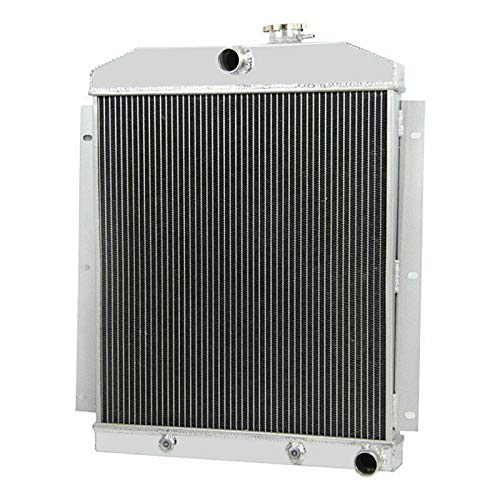 OzCoolingParts 47-54 Chevy Truck Radiator, 3 Row Core Aluminum Automotive Engine Radiator for 1947-1954 1948 1949 50 51 52 53 Chevy Base Truck 3100/3600/3700/3800/3900 ()
