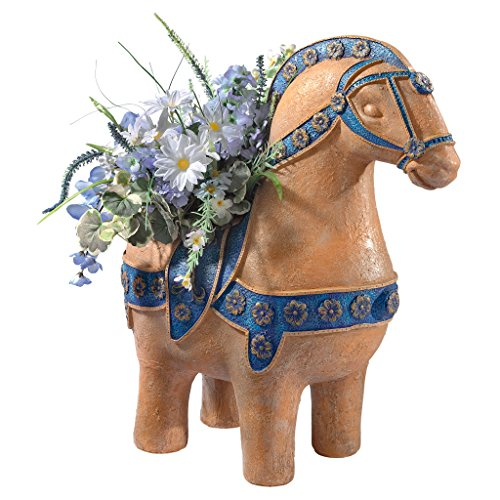 Design Toscano Arion Horse Mythical Greek Sculptural Urn, Full Color