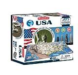 4D Cityscape USA History 4D Puzzle