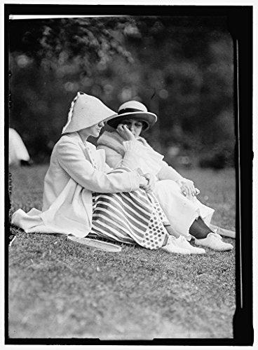 rapped Framed Print of Morehead, Mrs. J. Upshur, Right 1913 Harris & Ewing 04a ()