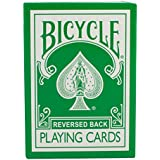 Green Bicycle Deck - Reversed Back (2nd Generation) by Magic Makers