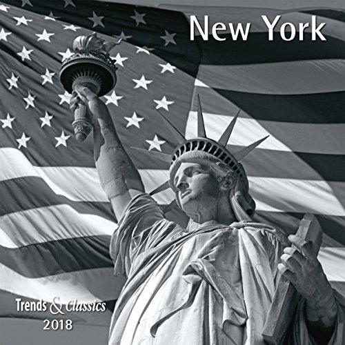New York 2018 - Broschürenkalender - Wandkalender - mit herausnehmbarem Poster - Format 30 x 30 cm