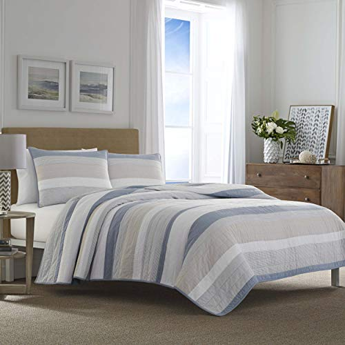 Nautica Terry Cove Quilt Twin Beige