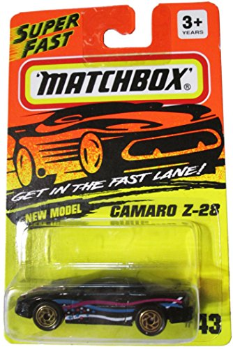 Matchbox Get in the Fast Lane! - New Model - Camaro Z-28 #43