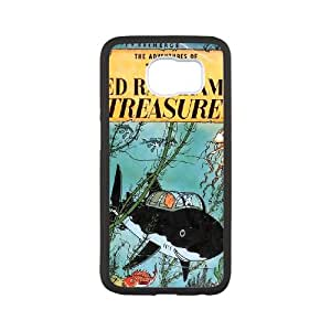 Samsung Galaxy S6 Cell Phone Case White TinTin cartoon nstu