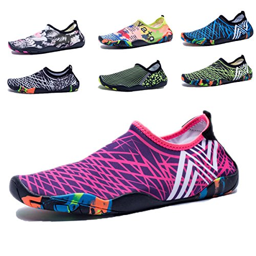 GINGYI Shoes for Summer Socks Aqua and Surf Yoga Red Exercise Outdoor Water Womens Beach Mens Swim n1Yx1FqwAr