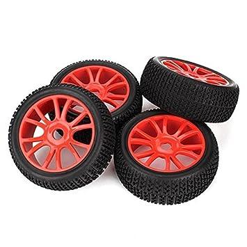 Youzone RC 1: 8 Todoterreno Negro T del coche Neumáticos Tipo de patrón de goma