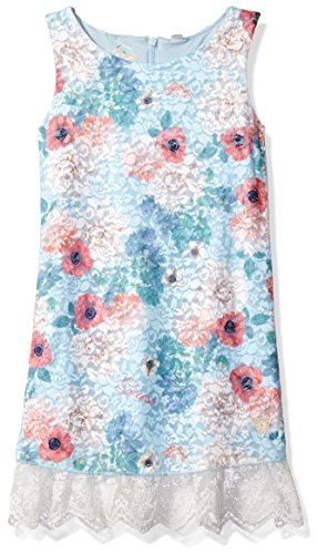 guess-little-girls-printed-lace-sleeveless-dress-blue-with-pink-flower-2