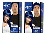 Bleaching Hair Splat - Splat Rebellious Colors Hair Coloring Kit - Blue Envy (Set of 2)