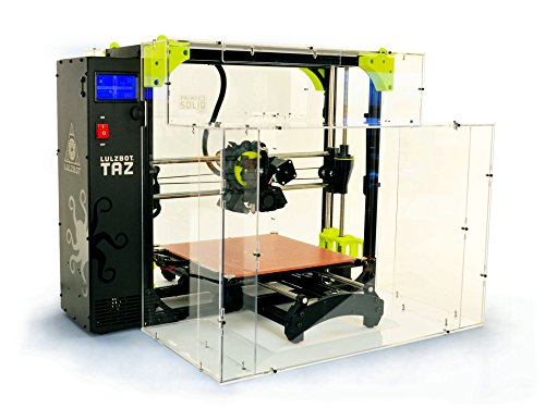 LulzBot TAZ 6 Enclosure by Printed Solid by LulzBot
