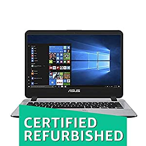 (Renewed) Asus Vivobook Core i3 7th Gen 14-inch Thin and Light Laptop (4GB/1TB HDD/Windows 10/Star Gray/1.55kg), X407UA-BV345T