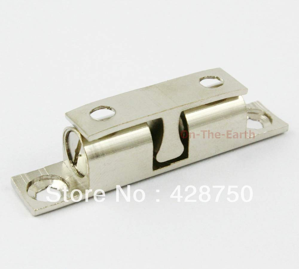 50mm Fine Copper Cabinet Door Catch Closer [Silver Color] (10 pieces/lot) by Kasuki (Image #2)
