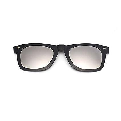 Gafas de sol polarizadas con espejo, de plástico, con clip ...