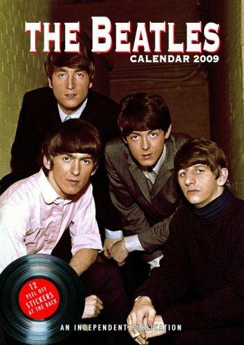 Beatles 2009 Wandkalender mit Stickern