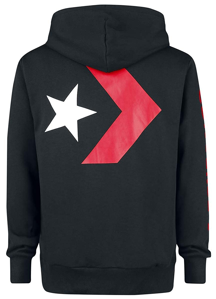 Converse Star Chevron Graphic Pullover Hoodie, Capucha para Hombre: Amazon.es: Ropa y accesorios