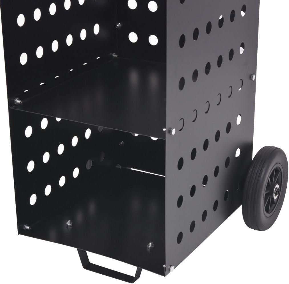 fzyhfa carro para la le/ña con ruedas de pl/ástico 36/x 42/x 105/cm dise/ño simple y Bello robusto y resistente Le/ña moderno Le/ña externo