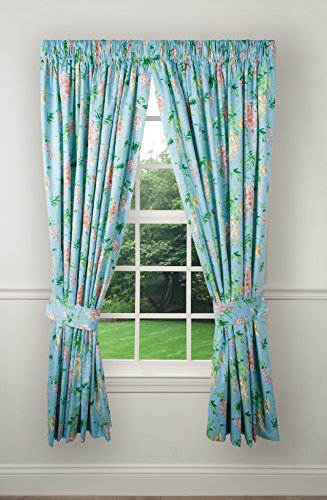 Lined Tailored Curtain - Ellis Curtain Wisteria Lined Tailored Panel, 50