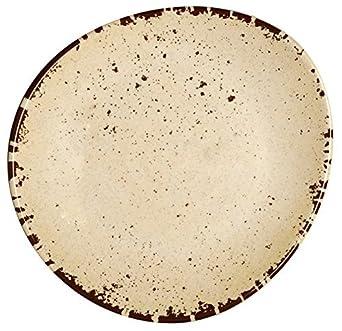 Melange 6-Piece 100% Melamine Dinner Plate Set (Rustic Egg Collection ) |  sc 1 st  Amazon.com & Amazon.com: Melange 6-Piece 100% Melamine Dinner Plate Set (Rustic ...