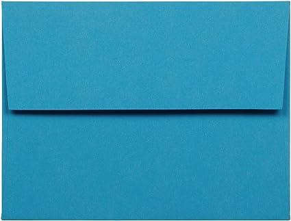 Verde Riciclato JAM PAPER Buste per Inviti Colorate 50//Pacchetto 133,4 x 184,1 mm