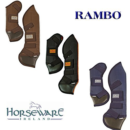 Navy Cream Pony Navy Cream Pony Rambo Travel Boots