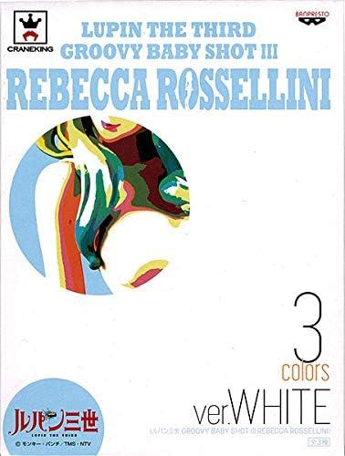 Groovy Baby Shot 5 Rebecca Rossellini White Pvc Figure Banpresto LUPIN III