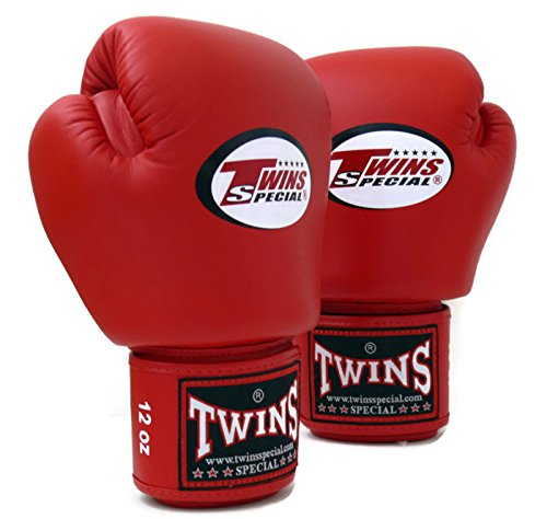 Twins Specials Boxing Gloves BGVL3 Red. Size 8 10 12 14 16 oz. Universal