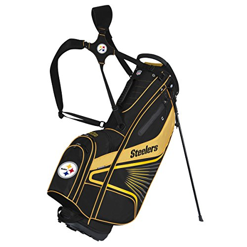 (Team Effort NFL Pittsburgh Steelers Gridiron III Stand Bag)