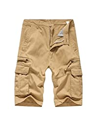 Cinhent Pants 2018 Men's Casual Outdoors Pocket Beach Work Cargo Shorts Trouser