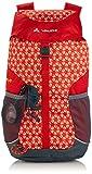 VAUDE Unisex Kinder Rucksack Puck 10, rot/mandarine print, 10 Liter, 15002