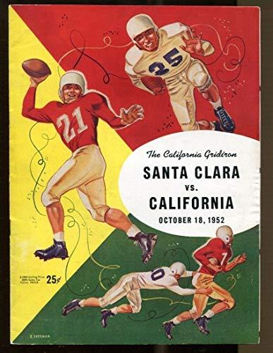 1952 Santa Clara v Cal Bears Football