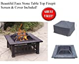 Metal Fire Pit by Alhambra For Sale