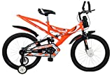 MAD MAXX BIKES Shocker 20 T Steel Single Speed Kids' Road Cycle (Neon Orange, 7-10 Years, 20 Inches)