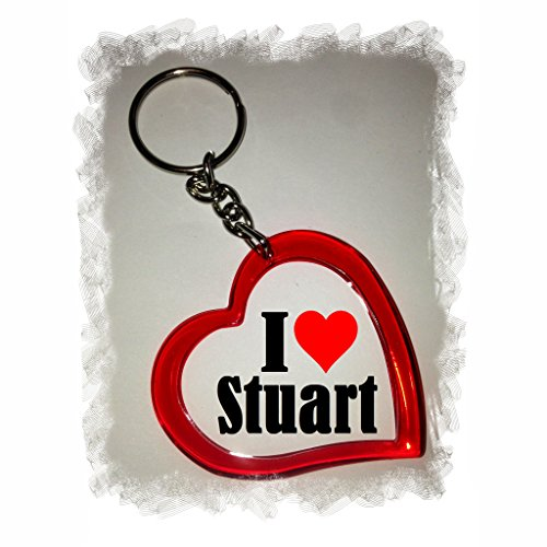 Exclusive Gift Idea: Heart Keyring