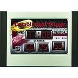Detroit Redwings Scoreboard Desk Clock