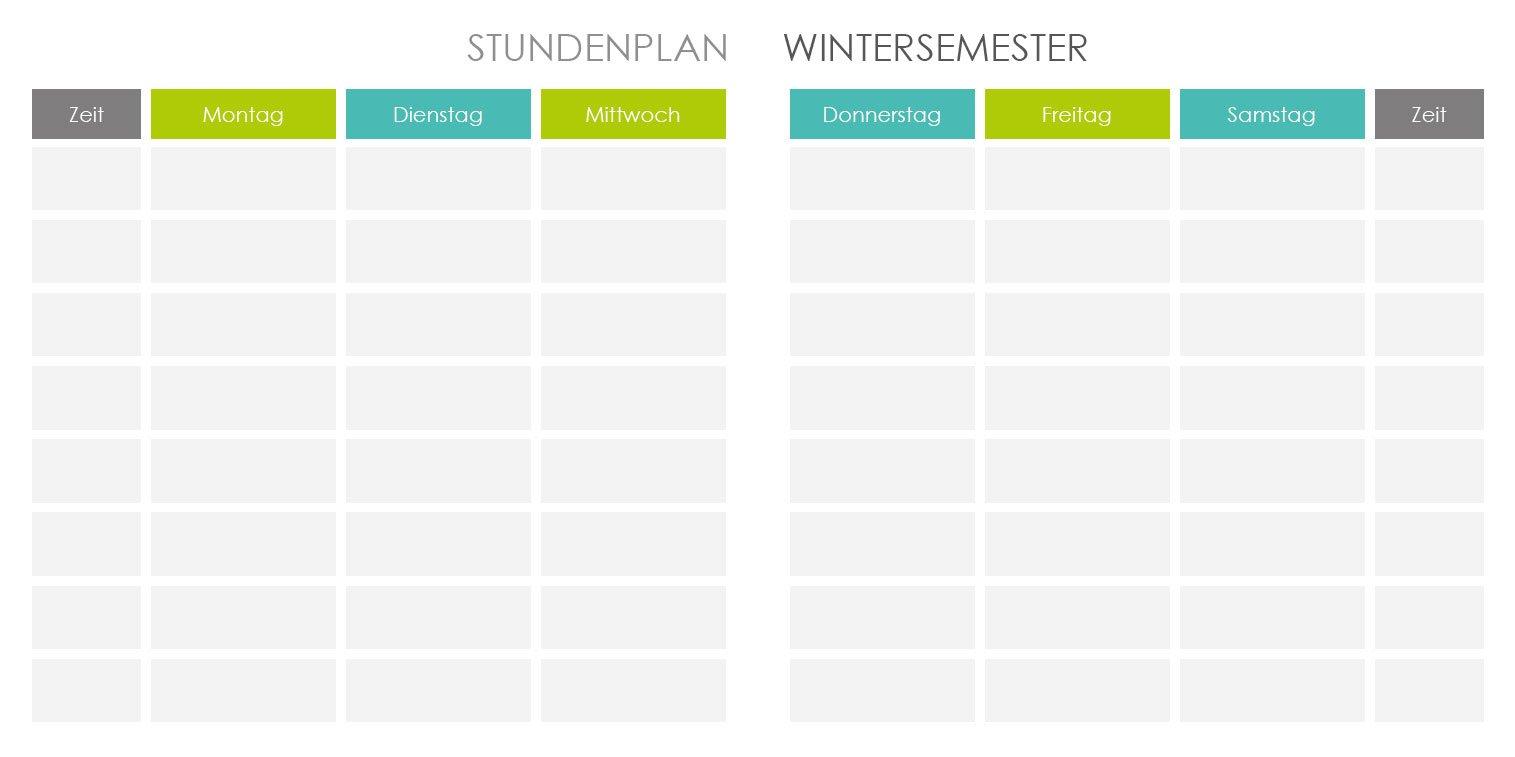 Dieses Semester wird alles anders. Terminkalender/Semesterplaner ...