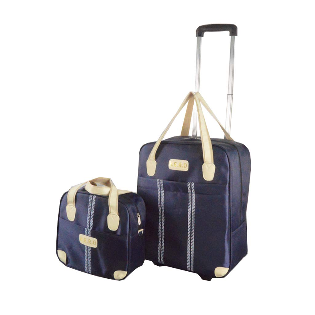 833d9d7d4124 Amazon.com: SunHai Travel Trolley Bag, Two Large and Small Bags ...